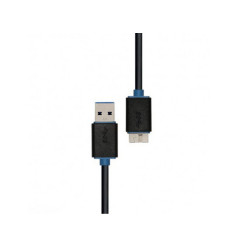 PROLINK PB458 0150 CABLE USB 3.0 A PLUG TO USB MICRO B PLUG 3.0 CABLE 1.5M COMPUTER TO ENCLOSURE BACK-N