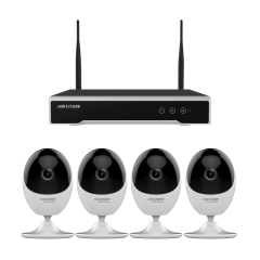 HIKVISION IP CAMERA WIFI CUBE SET 4CH