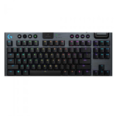 LOGITECH GAMING KEYBOARD G913 TKL LIGHTSPEED WIRELESS CLICKY RGB