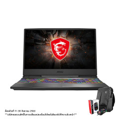 MSI GP65 LEOPARD 10SEK-265TH NOTEBOOK  i7-10875HHM470/DDR IV 16GB(8GB*2 2666MHz)/512GB NVMe PCIe SSD/RTX2060, GDDR6 6GB/15.6 FHD (1920*1080), IPS-Level 144Hz Thin Bezel/Air Gaming Backpack/Win10/WIFI6