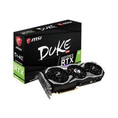 MSI VGA CARD GEFORCE RTX 2080 DUKE 8GB OC PCI-E/GDDR6/TRI FAN/OC/HDMI/DP*3/USB TYPE-C/NVLINK