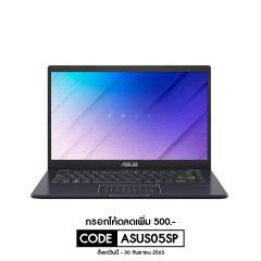 ASUS E410MA-EK310T NOTEBOOK INTEL N5030/DDR4 4G[ON BD.]/512G PCIE G3X2 SSD/BAG/NUMPAD/FHD TN/PEACOCK BLUE