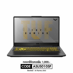 ASUS FA706IH-H7041TS NOTEBOOK R7-4800H/DDR4 3200 8GB *2/1TB PCIE SSD/GTX1650 DDR6 4G/Win10/MCAFEE 1YR/Office H&S/120Hz/RGB KB/backpack outside/Fortress Gray