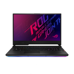 ASUS GL742LW-EV005T NOTEBOOK i7-10750H (6C/12T)/DDR4 8G*2/512G PCIE/RTX 2070/Win10+MCAFEE 1YR/144Hz IPS/RGB 4-ZONE/WiFi 6/backpack outside/BLACK PLASTIC