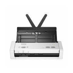 BROTHER SCANNER ADS-1200 Compact document scanner, which is scanned to USB flash memory directly. Name card or plastic card can be scanned 1Y
