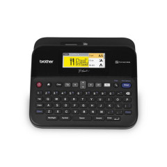 BROTHER-PT-D600 P-touch label printer with full-colour LCD screen 1Y