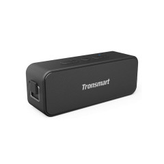TRONSMART T2 PLUS BLACK SPEAKER BLUETOOTH 5.0 / IPX7 / SDCARD / NFC / 3600mAh / ประกัน1ปี