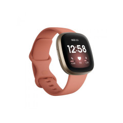 FITBIT SMART WATCH VERSA 3 PINK CLAY SOFT GOLD ALUMINUM