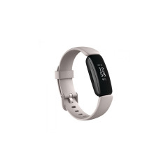 FITBIT SMART WATCH INSPIRE 2 LUNAR WHITE BLACK