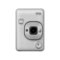 INSTAX MINI LIPLAY (STONE WHITE)