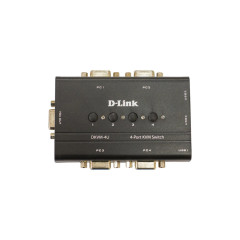D-LINK DKVM-4U USB KVM SWITCH 4-PORT มีสาย 2 ชุด