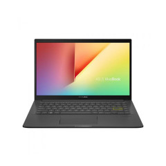 ASUS S413EQ-EB078TS NOTEBOOK Intel I5-1135G7/DDR4 8G[ON BD.]/512G PCIE G3/MX350 2GB/AIPT/FHD vIPS/Backlit KB/Win10/Office H&S/Backpack/INDIE BLACK