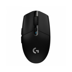 LOGITECH GAMING MOUSE G304 BLACK WIRELESS LIGHTSPEED USB BATTERY AAx1 200 - 12,000 DPI 2YEARS