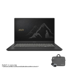 MSI SUMMIT B15 A11M-064TH NOTEBOOK Intel i7-1165G7/DDR IV 8GB (3200MHz)/512GB NVMe PCIe/INTEL IRIS XE GRAPHICS (INTEGRATED)/15.6 FHD (1920*1080)/WIN 10 PRO/Mouse M96/Topload Bag/INK Black