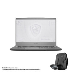 MSI WF65 10TJ-616TH NOTEBOOK I7-10750H+HM470/DDR IV 16GB (2666MHz)/15.6 FHD/Quadro T2000, 4GB GDDR6/512GB NVMe PCIe Gen3x4 SSD +1TB/WIN10/WIFI6/Workstation Air Backpack
