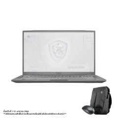 MSI WF75 10TJ-256TH NOTEBOOK  i7-10750H+HM470/DDR IV 16GB*2 (2666MHz)/17.3 FHD (1920*1080), IPS-Level 144Hz/GDDR6 4G/512GB NVMe PCIe Gen3x4 SSD +1TB/WIFI6/WIN10/Workstation Air Backpack