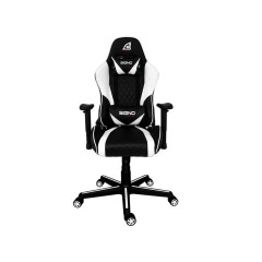 SIGNO GAMING CHAIR GC-203 BLACK WHITE