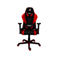 SIGNO GAMING CHAIR GC-203 BLACK RED