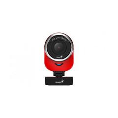 WEBCAM  GENIUS QCAM 6000 FULL HIGH DEFINITION 1080P (RED)