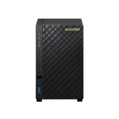 NAS ASUSTOR 2-BAY AS1002T MARVELL ARMADA 385 DUAL CORE 1GHz DDR3 512MB