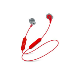 JBL IN-EAR ENDURANCE RUN BT RED BLUETOOTH4.1 HANDS-FREE CALLS 6 HOURS OF PLAYTIME
