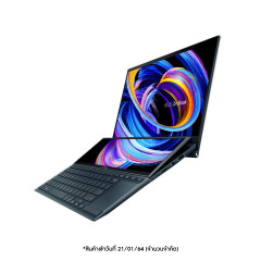 ASUS UX482EG-HY002TS NOTEBOOK Intel I7-1165G7/LPDDR4X 16G [ON BD.]/1TB PCIEG3/MX450/4CELL 70WH,SLEEVE,STYLUS,STAND/1W Panel 400 nits/Screenpad +/Office H&S/3Y LOSS+1Y Perfect warranty/CELESTIAL BLUE