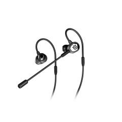 STEELSERIES TUSQ IN-EAR GAMING HEADSET - BLACK 1Year.