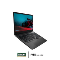 LENOVO IDEAPAD GAMING 3 15ARH08-82EY006WTA NOTEBOOK RYZEN7 4800H/RAM 8GB DDR4/HDD 512 GB M.2 NVME/GTX 1650 4GB/15.6 FHD IPS 120Hz/WINDOWS10/BLACK/WARANTY 2Y+ADP 1Y