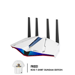 ASUS ROUTER RT AX82U GUNDAM EDITION WIFI6 160MHz WHITE