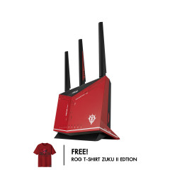 ASUS ROUTER RT AX86U ZAKU II EDITION WIFI6 RED