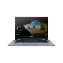 ASUS TP412FA-EC496T NOTEBOOK VIVOBOOK FLIP INTEL PENTIUM GOLD 5405U/RAM 4GB/256G PCIE G3X2 SSD/UMA/14 FHD TOUCHSCREEN/ACTIVE PEN/WINDOWS10/SILVER BLUE/backpack