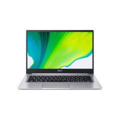 ACER SF314-59-511W NOTEBOOK I5-1135G7/RAM 8GB DDR4(ON BOARD)/SSD 512GB PCIE/INTEL IRIS XE GRAPHICS G7/14FHD IPS/WINDOWS10/OFFICE HOME&STUDENT/SILVER/2 Yrs./BAG