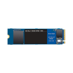 WD SSD BLUE SN550 1TB M.2 3D NAND PCIe 3.0 Read Speed/Up to : 2400 MB/s Write Speed/Up to : 1950 MB/s/5Y