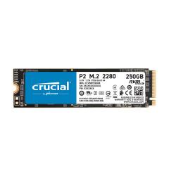 CRUCIAL SSD P2 250GB M.2 PCIE READ2100/WRITE1150