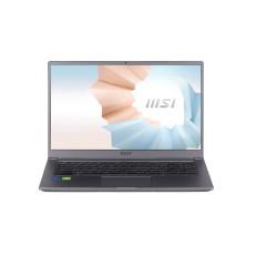 MSI MODERN 15 A11SB-068TH NOTEBOOK Intel i5-1135G7/512GB NVMe PCIe Gen3x4 SSD (new)/8 GB DDR4 (3200MHz)/MX450, GDDR5 2GB/15.6 FHD (1920*1080)/WIN 10/URBAN SILVER