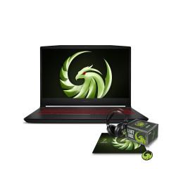 MSI_BRAVO15_B5DD-014TH NOTEBOOK Ryzen7 5800H/DDR IV 16GB (8*2 3200MHz)/1TB NVMe PCIe SSD/RX5500M, GDDR6 4GB/15.6 FHD (1920*1080), 144Hz/WiFi6/WIN10/Stealth Trooper Backpack/Black/2Y
