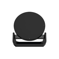BELKIN WIB001DQBK BOOSTUP? Bold Wireless Charging Stand 10W with QC3.0 USB Wall Charger and 4 Feet Micro-USB Cable - Black * 2 Flat Pin and CEW US$2,500 2Y