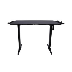 NEOLUTION E-SPORT FURNITURE TABLE EGAMING Electric-heingh adjustable of lift 75-120 cm single moter Carbon steel pipe+ABS P2PB / ABS engineering plastics Extension Stand Black 1Year