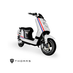 THOMAS_CRYSTAL_BIKE_WH  MOTOR 1000W BATTERY 60V 20AH 60KM./H MAX DISTANCE 60-80KM./H TIME 2-3 HOURS LITHIUM MANGANATE/Warranty Motor3Yrs Battery2Yrs Electrical1Yr