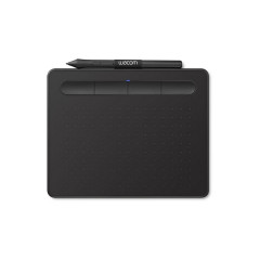 WACOM INTUOS PEN SMALL CTL-4100/K0-CX Tablet with pressure-sensitive, cordless, battery-free pen Weight Tablet 230g Pen: 11.2g USB to micro USB cable with L-shape plug BLACK 1Y