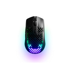 STEELSERIES AEROX 3 WIRELESS GAMING MOUSE - BLACK 1 Yrs.