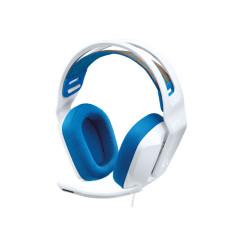 LOGITECH GAMING G335 WIRED HEADSET 100 Hz - 10000 Hz 3.5 mm audio jack WHITE 2Y
