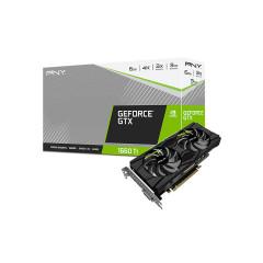 PNY VGA CARD GEFORCE GTX1660TI DUAL FAN /3y