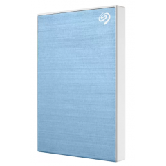 SEAGATE HARDDISK EXTERNAL STKY2000402 2.5 LIGHT BLUE ONE TOUCH WITH PASSWORD PROTECTION BACK UP ข้อมูลผ่านโปรแกรม SEAGATE TOOLKIT 3YEAR