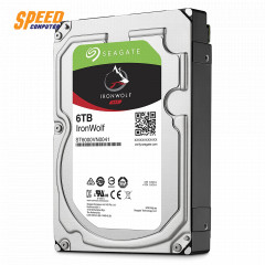 SEAGATE HARDDISK PC ST6000VN0041 INTERNAL IRONWOLF 6.0TB/7200RPM NAS 3 YEAR