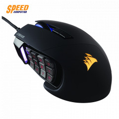CORSAIR GAMING SCIMITAR RGB MOUSE BLACK