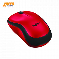 LOGITECH M221 MOUSE WIRELESS SILEN RED COLOR 2.4 GHZ //