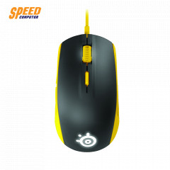 STEELSERIES MOUSE RIVAL 100 YELLOW RGB OPTICAL SENSOR 4000 DPI