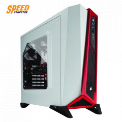 CORSAIR CASE SPEC- ALPHA WHITE RED