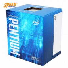 INTEL CPU G4400 PENTIUM Dual-Core 3.3 GHz LGA 1151 3MB 2 Cores & 2 Threads
